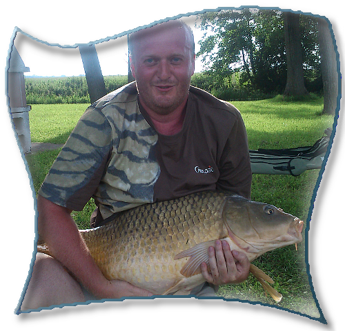 My biggest fish that day - 12,5kg carp